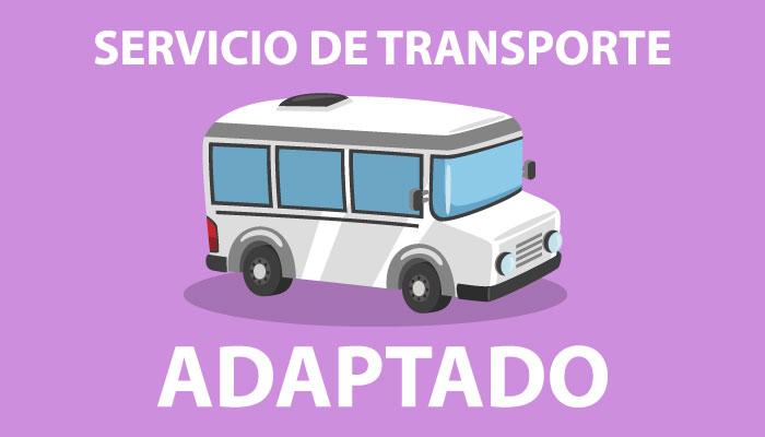 Servicio de transporte adaptado
