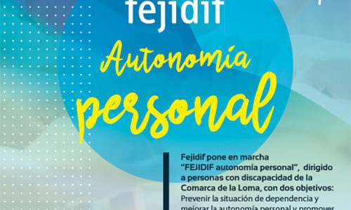 Proyecto: Autonomía personal