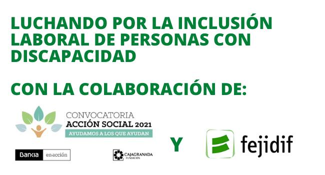 Luchando por la inclusión laboral de personas con discapacidad